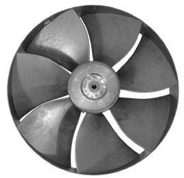 bild 1 produkt: AC 136 / 310 / 350  Generation 2  (7-bladig 295 mm med clips på motor)