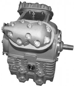 bild 1 produkt: Kompressor X430 med 30,2 mm axel - lilla oljetråget
