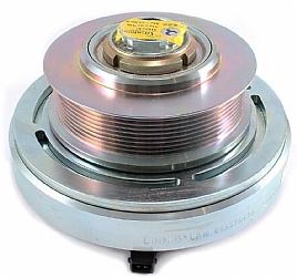 bild 1 produkt: Komplett clutch bock 9 polly V Diameter 147 mm