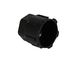 bild 1 produkt: Schraderhatt till Låg R1234YF i plast (M8 x 1)
