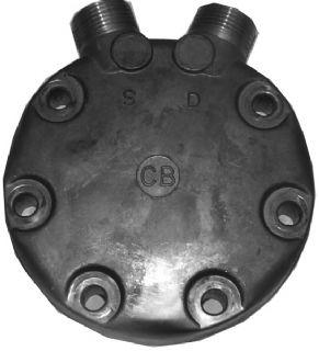 bild 1 produkt: Bakstycke SD709 märkt CB vertikal rotalock, inga schraderuttag 1'' x 1''