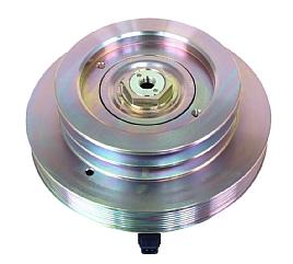 bild 1 produkt: OEM LANG CLUTCH. Komplett clutch Bock / Bitzer 2 x SPB 165mm / 8PK 235mm
