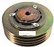 Kompressor clutch 4 och 6 cyl  / 2B spår 250mm + 2A spår 250mm utan magnet
